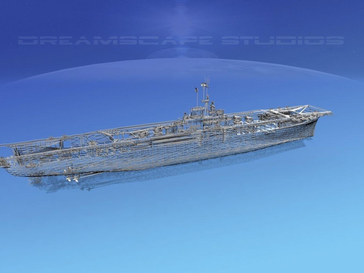 ticonderoga class carrier cv