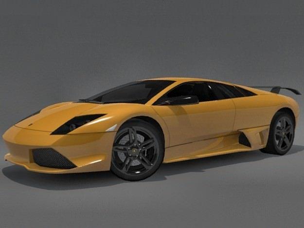 3d Model Lamborghini Murcielago Lp640 Cgtrader