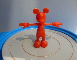 mickey AAA 3D Printable Mickey Mouse