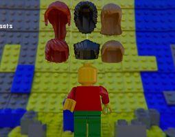 Lego Asset Pack blender File rigged