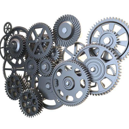 gear mechanism set 3d model max obj mtl 3ds fbx c4d lwo lw lws 1