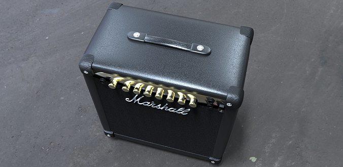 marshall 150dx amplifier 3d model lwo lw lws 1