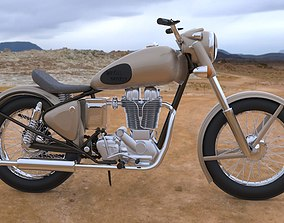 Royal Enfield Bullet 535 3D model