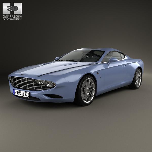Aston Martin DB9 Coupe Zagato Centennial 2014