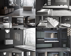 Bathroom furniture collection Antonio 3D model