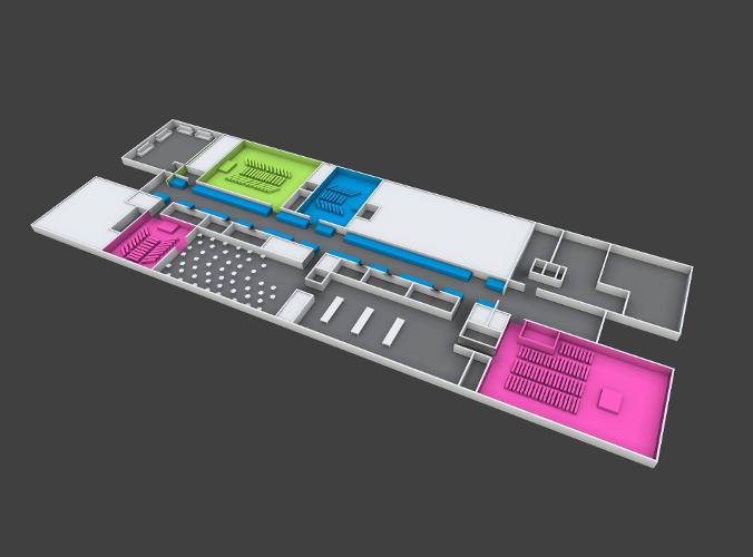 3d Floor Plan Model Download Max Obj Fbx 3ds C4d Stl