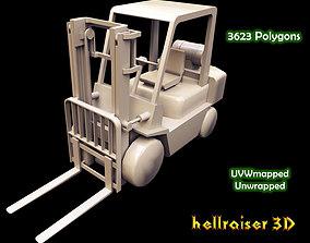 Forklift 3D model realtime