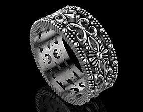 Wedding ring love 3D print model