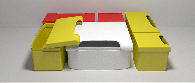 3d Printable Storage Boxes Cgtrader