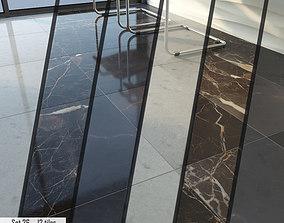 3D ABC Stone Set tiles