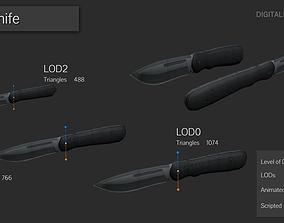 3D asset Outdoor Jack-Knife