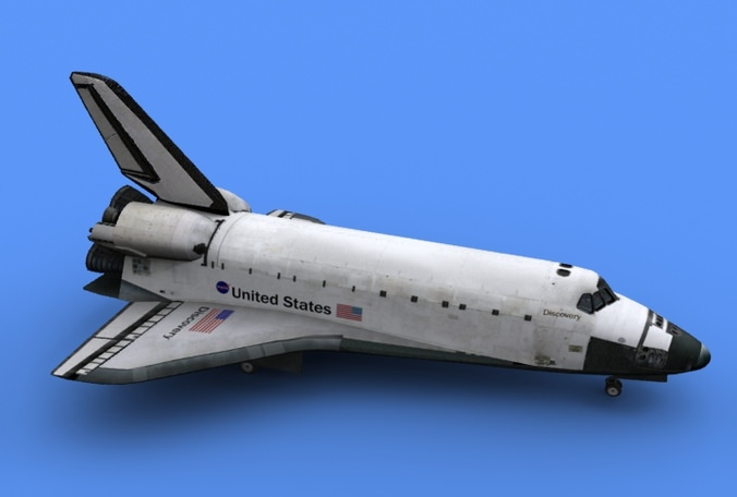 discovery space shuttle model - photo #36