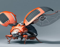 ladybug robot 3D
