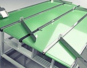 3D Industrial Conveyor