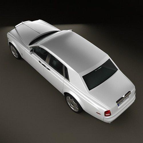rolls-royce phantom 2011 3d model max obj 3ds fbx c4d lwo lw lws 8