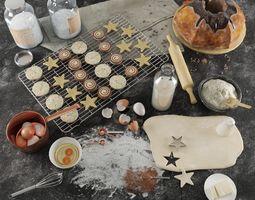 Baking set 3D