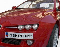 3D model racing romeo ALFA ROMEO 159