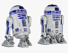 R2-D2 Star Wars Droid 3D model