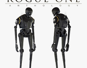 3D K-2SO Star Wars Droid