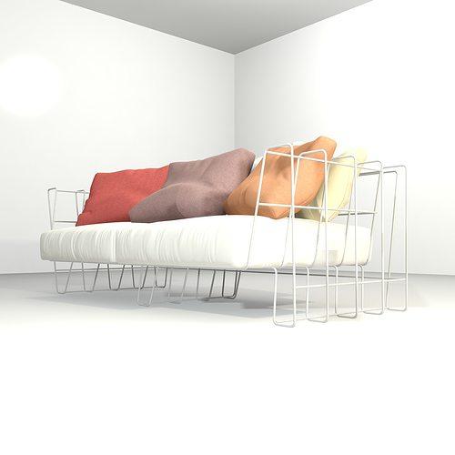 Extraordinary Living Room 3d Model
