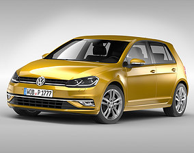 Volkswagen Golf 2017 3D