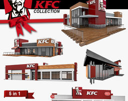 3D KFC 5 in 1 Collection