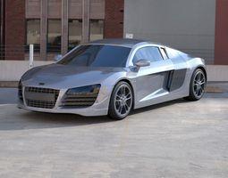 3D audi R8 vehicle