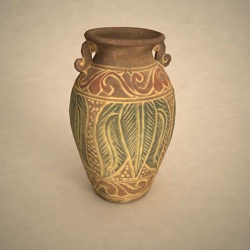 3d Model Ancient Vase Cgtrader