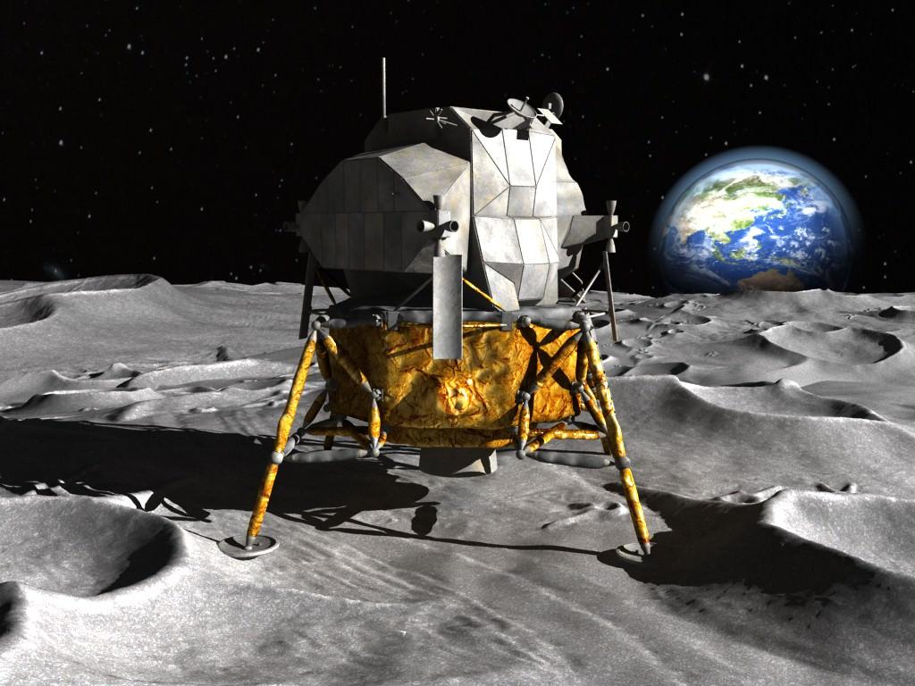 NASA Apollo Lunar Landing Module