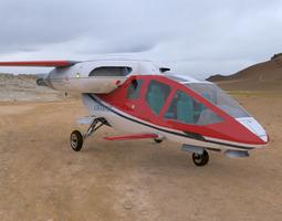 3D model HeliJet Poser