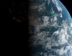 3D asset Photorealistic Earth 16K textures