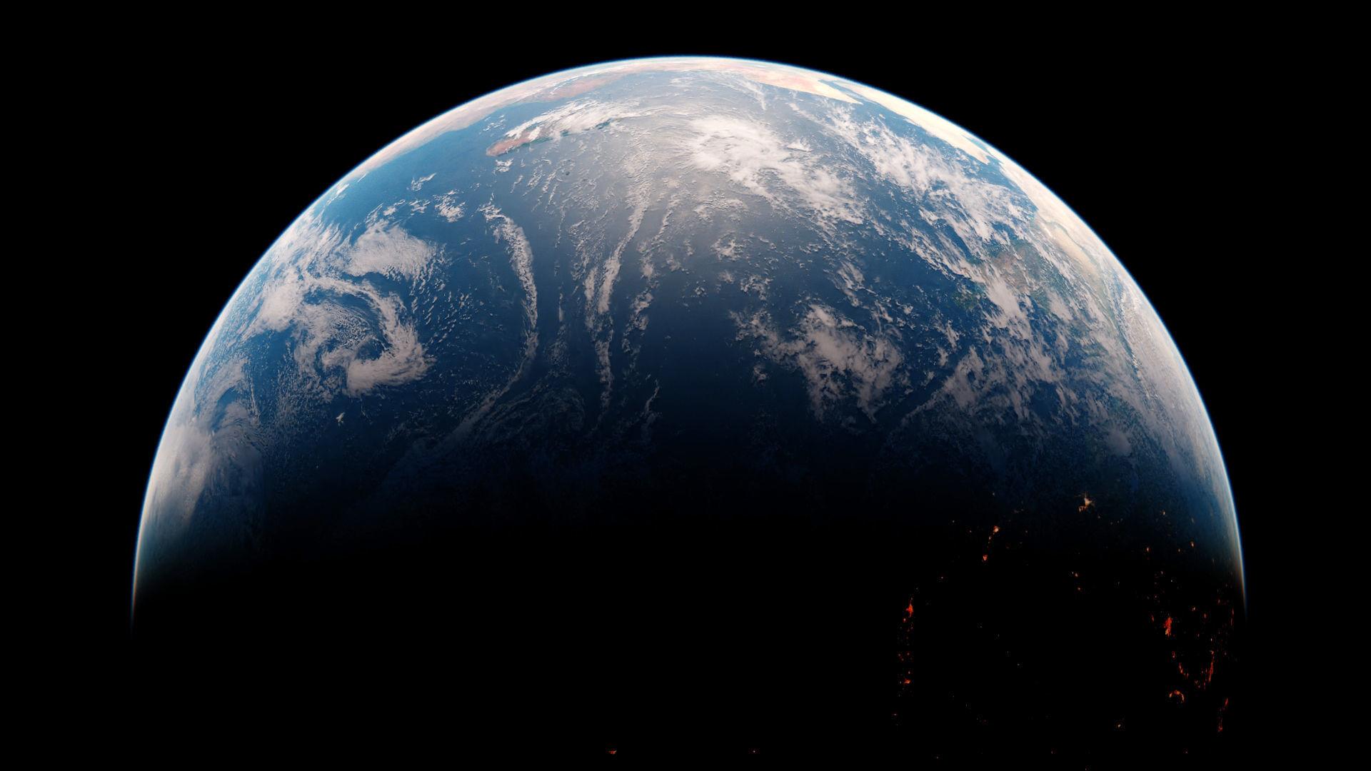 Photorealistic Earth 16K textures