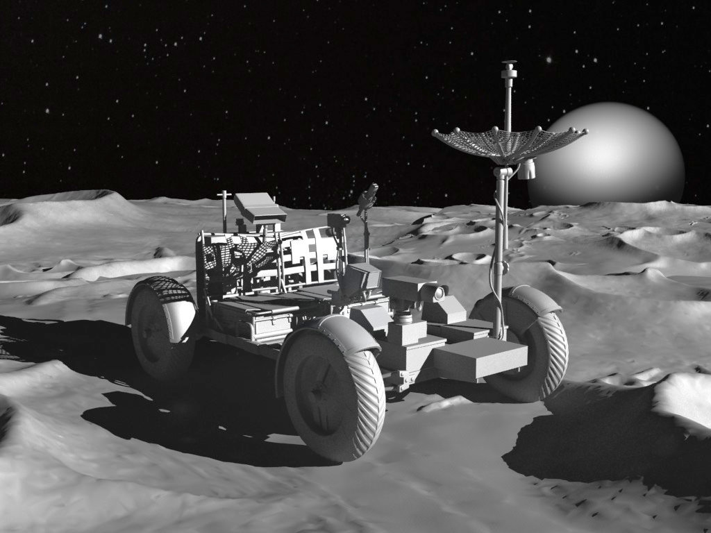 lunar space car - photo #10