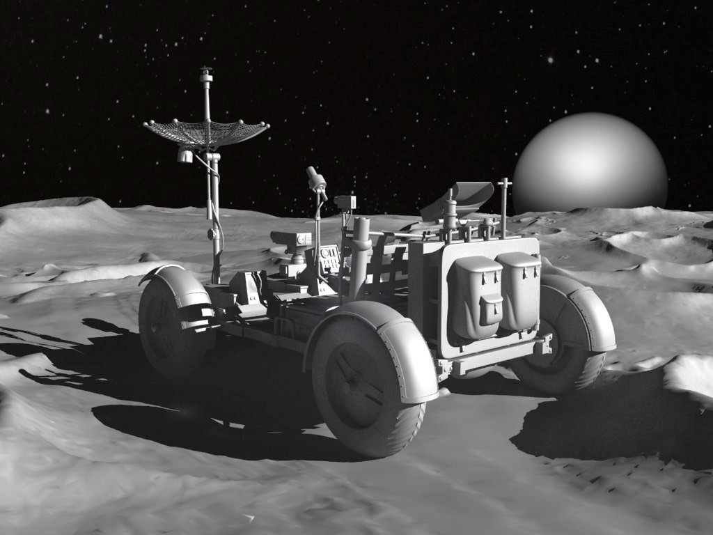 lunar space car - photo #12