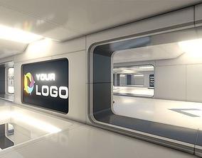 modular realtime 3D Showroom Level Kit Vol 4