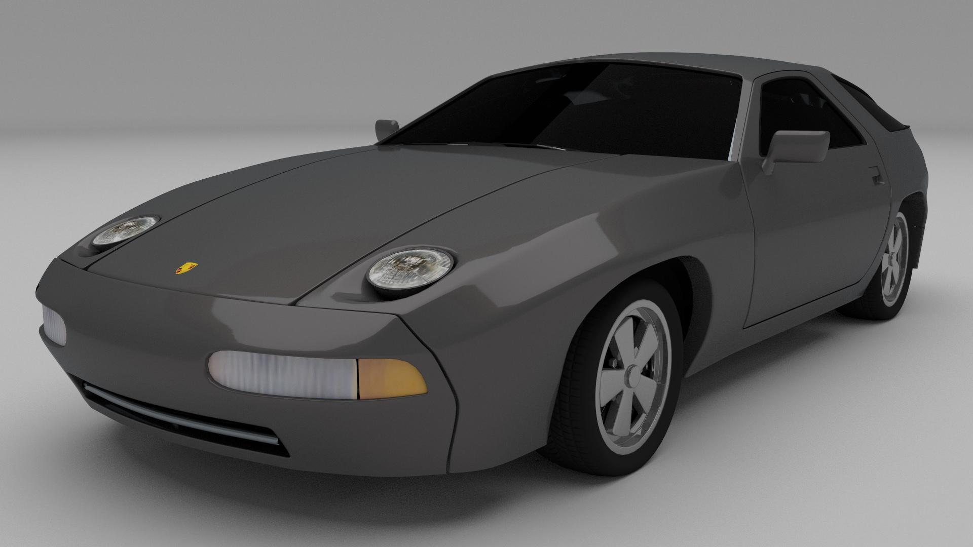 Porsche Classic Collection 3d Model Obj Stl Blend Dae Cgtrader Com