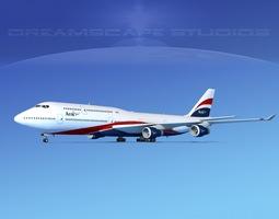 3D model Boeing 747-8I Jumbo Jet Arik