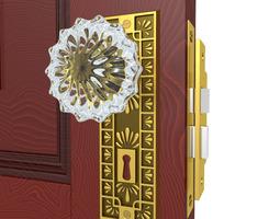 3D Door Knob Hardware 6