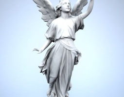 Lucy Angel 3D asset
