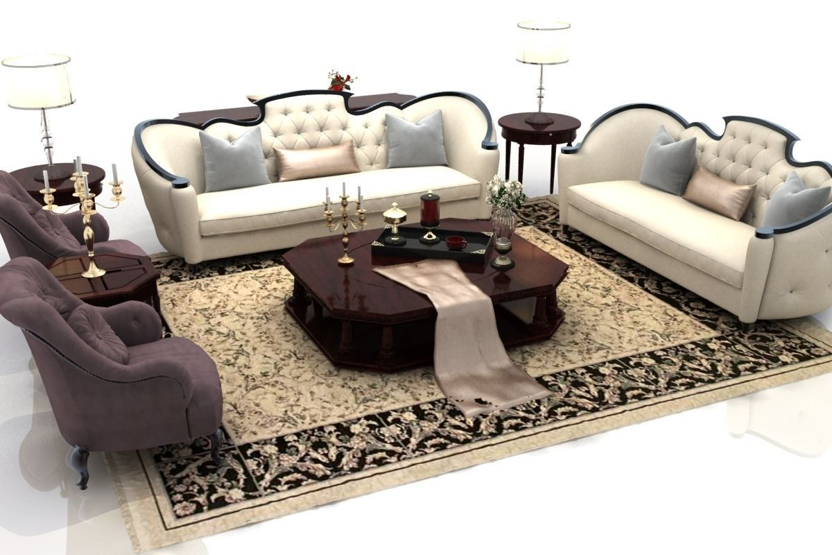 Sofa couch 3D model animated | CGTrader