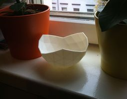 Geometric Bowl 03 3D Model