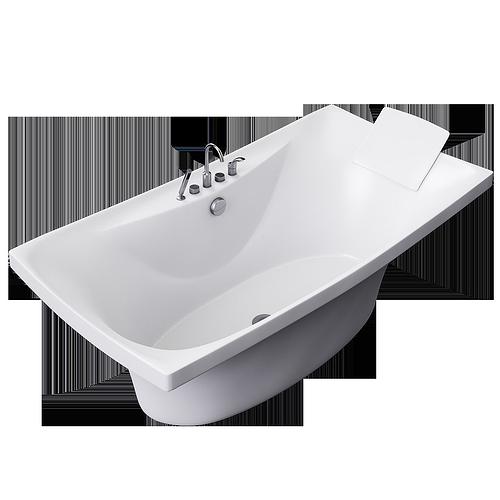 bath jacob delafon escale 3d model max 1