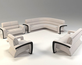 Sofa set 3D