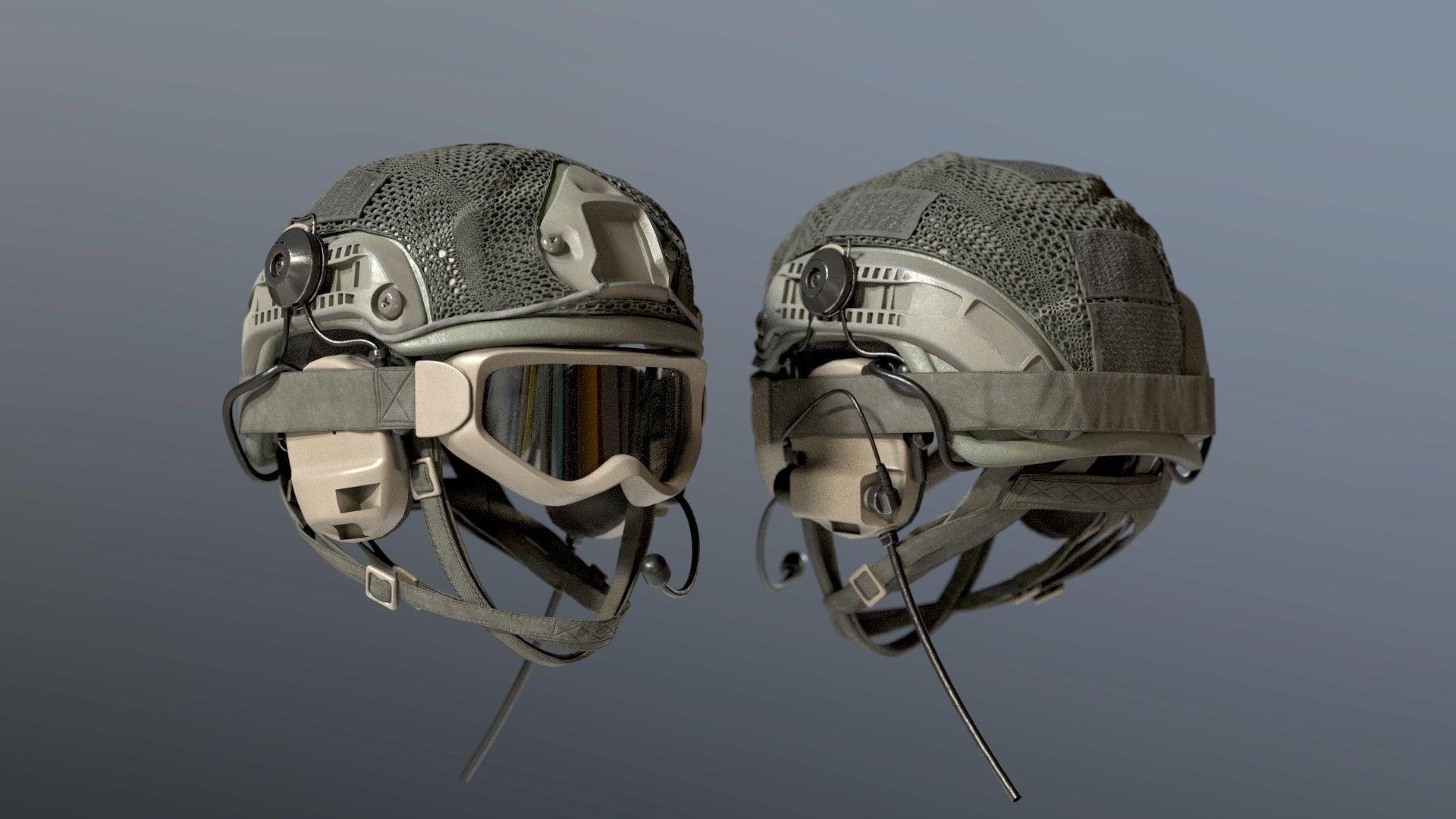SOLDIER Helmet bulletproof