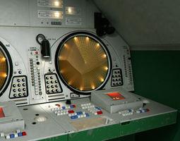9S467 Soviet radar post 3D asset
