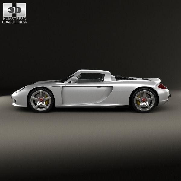 Porsche Carrera Gt 980 2004 3d Model Cgtrader