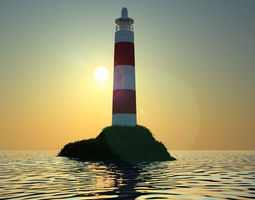 3D model LightHouse