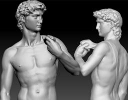 3D print model David by Michelangelo Classic Statue