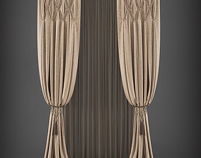 Curtain 3D model 273 realtime