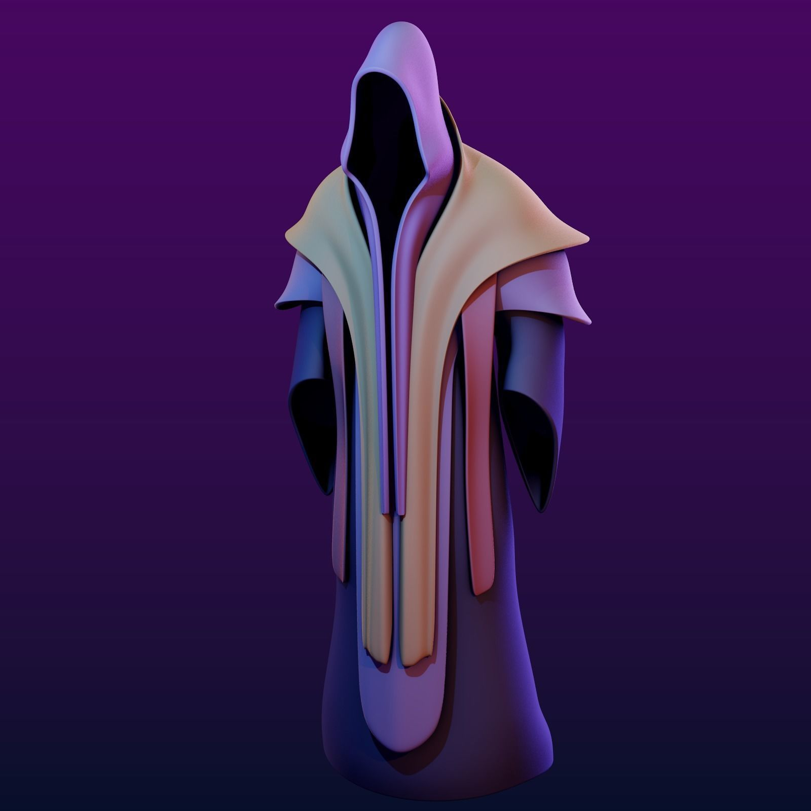 Two Magic Robes with Hood
